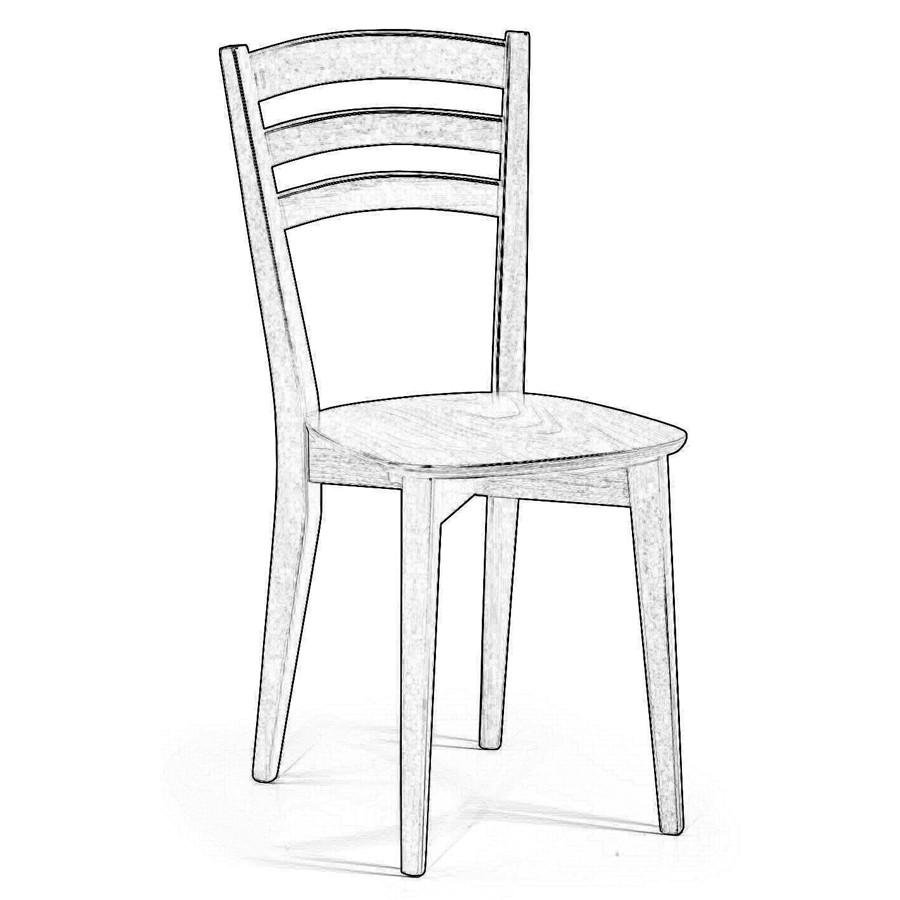 Sedie in legno grezzo | Arredo Idee