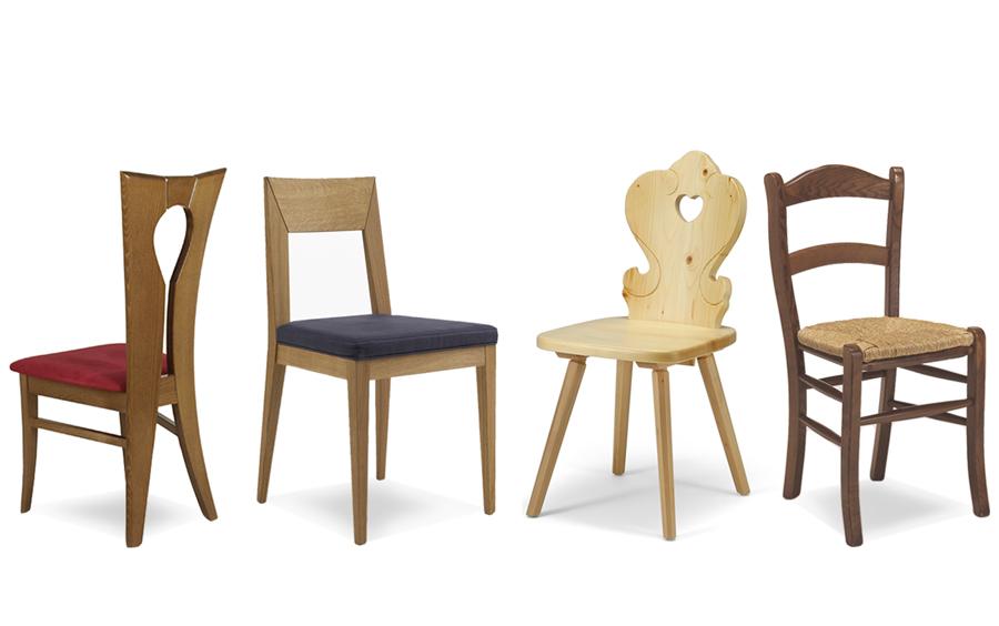Un arredo accogliente con le sedie in legno arredo idee for Sedie arredo
